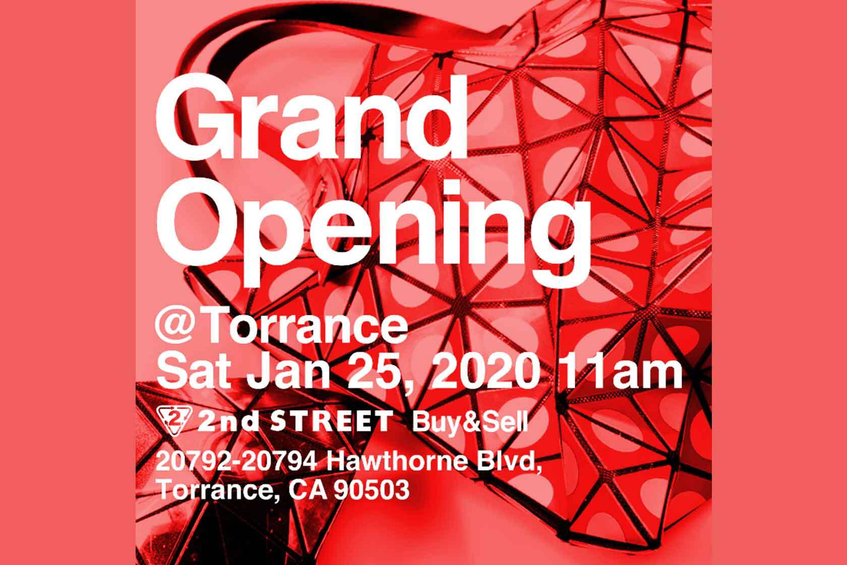 2nd STREET Torrance Grand Opening